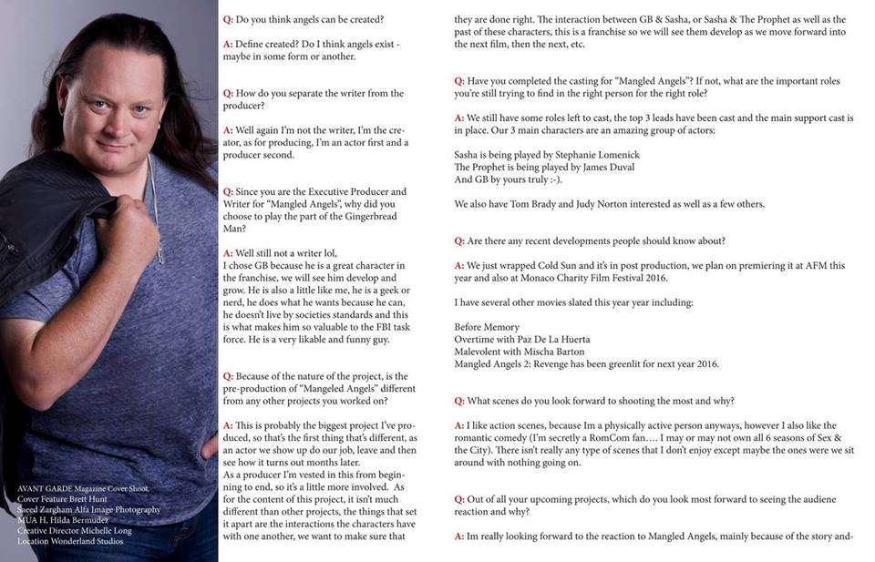 Brett AV Interview